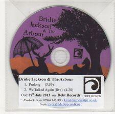 (FF24) Bridie Jackson & The Arbour, Prolong - 2013 DJ CD