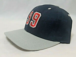 99-Wayne-Gretzky-Retirement-Game-Hat-NYR-Vintage-Pro-Player-Strapback-NWOT