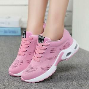 Womens Running Shoes Sneakers Breathable Mesh Sports Casual Shoes Outdoor New sz