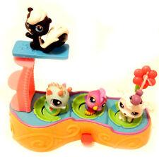 THE LITTLEST PET SHOP Playset &  figure set lot, cats & dogs Good condition,