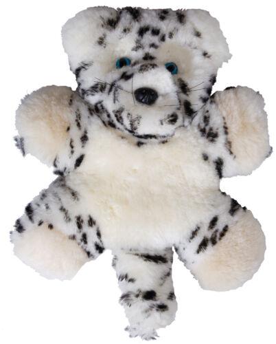 soft toy Flat Friends Snow Leopard Lambskin comforter