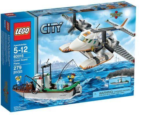 LEGO città 60015-Aereo della  Guardia Costiera NUOVO OVP  negozio online