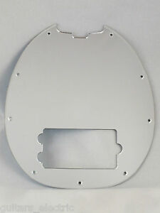 mirror chrome pickguard scratch plate for music man classic stingray bass 4 ebay. Black Bedroom Furniture Sets. Home Design Ideas