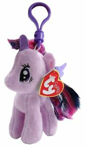 Ty Beanie Babies 41104 My Little Pony Twilight Sparkle Horse Key Clip 2795c6f3e59a