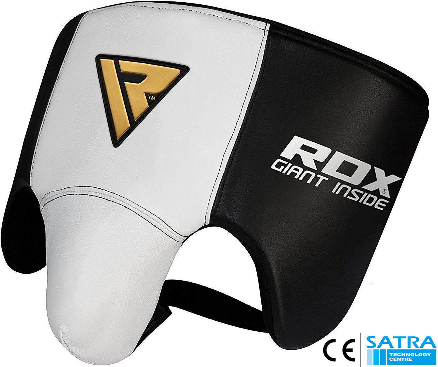 RDX Cow Hide Leather No Foul Groin Guard Predector MMA Cup Boxing Abdo Muay Thai
