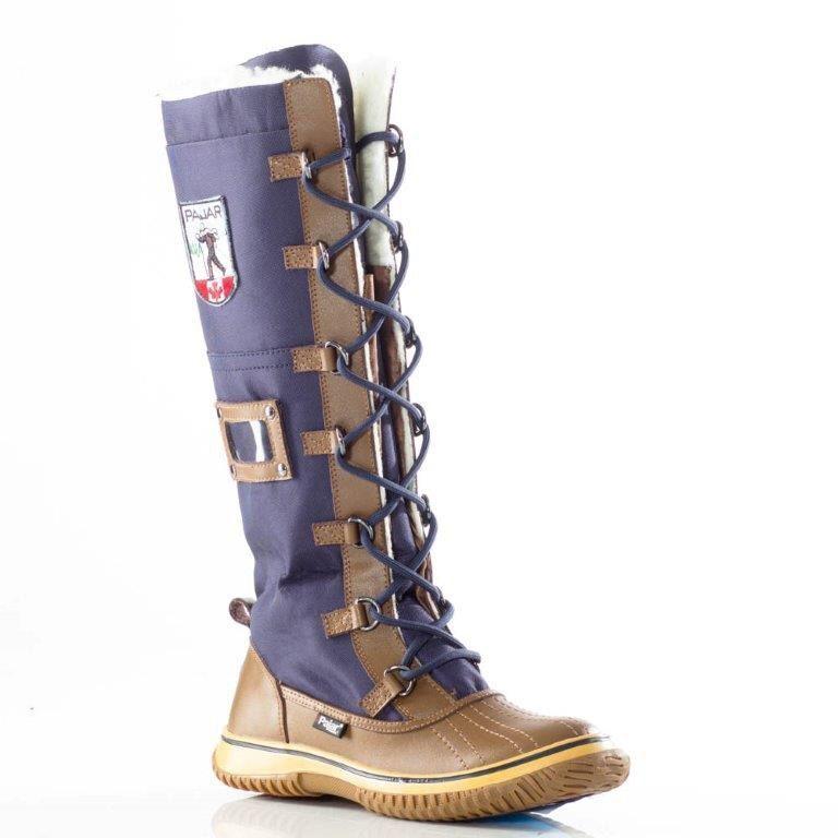 Para Para Para mujer botas impermeables pajar Grip Zip Azul Marino Talla 10-10.5, 41 euro  NFSAA -87  varios tamaños