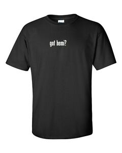 Got-Hemi-Men-039-s-Cotton-T-Shirt-Shirt-Solid-Black-White-Funny-Dodge-S-5XL
