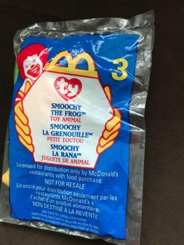 Details about  /McDonald/'s Ty Teenie Beanie Babies 1999 ~SMOOCHY the Frog #3 NIP RT