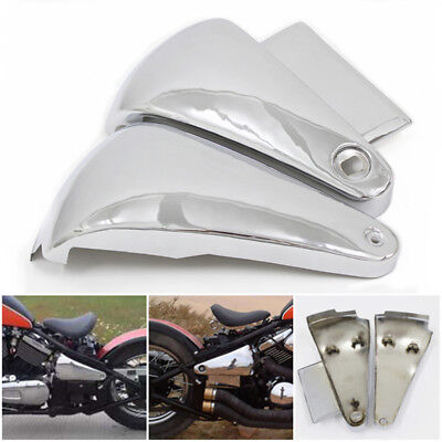 Battery Side Fairing Cover Metal For Kawasaki Vulcan Vn400 Vn800 Classic Drifter Ebay