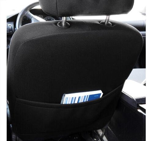 Toyota AVENSIS Mk2 2001-2009 Eco Cuero Y Alicante Tailored Fundas De Asiento
