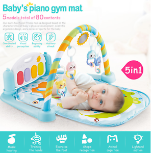 89c414e367c Image is loading Baby-Multi-functional-Music-Pedal-Piano-Toy-Newborn-