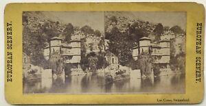 Lac-Como-Suisse-Italia-Foto-Stereo-Albumina