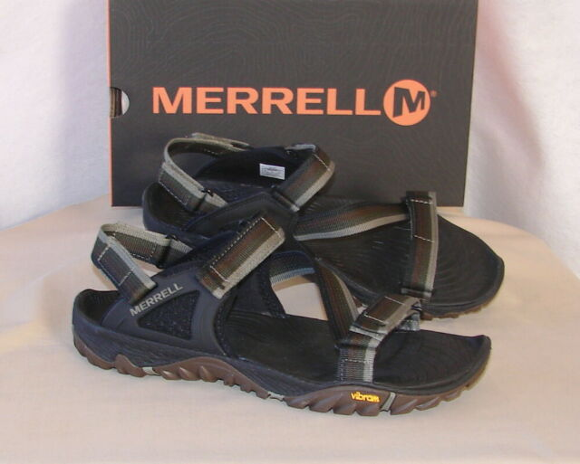 cd03755fde2 Merrell Mens Sandals All out Blaze Web Dusty Olive Size 9 for sale ...