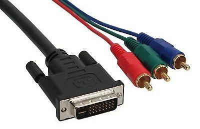 1,40 M Dvi 24+5 Kabel Auf 3x Cinch Rgb Spezieller Kauf
