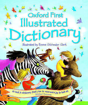 """AS NEW"" Oxford First Illustrated Dictionary, , Book"