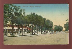 Indonesia Java SAMARANG Hotel du Pavilion 1912 PPC