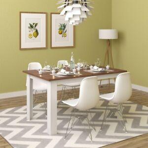 Dettagli su Tavolo da pranzo tavolo cucina tavolo sala da pranzo in legno  da soggiorno