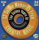 32 Golden Memories, Vol. 2 by Various Artists (CD, Jul-2013, Select-O-Hits)