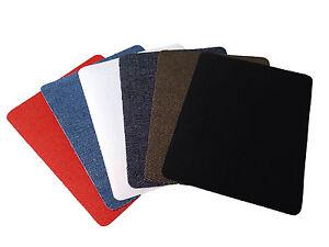 Bügelflicken zum Aufbügeln13x10cm blau/braun Jeans Flicken, AP-5