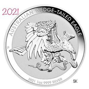 2021 Australian Wedge-Tailed Eagle 1 oz Silver Coin