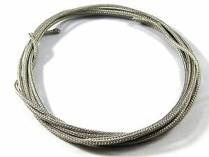 8-ft-environ-2-44-m-de-vintage-Gavitt-SINGLE-Conducteur-Tresse-Bouclier-Cable-guitare-Wire