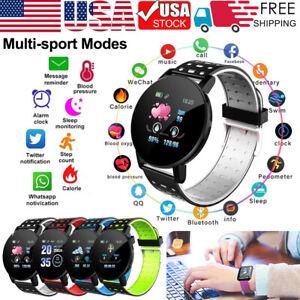 119-plus-smart-watch-IP67-impermeable-a-l-039-Eau-Bracelet-Moniteur-De-Frequence-Cardiaque-Fitness