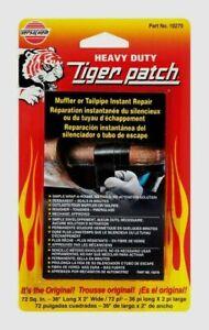"VersaChem 36"" Tiger Patch Muffler & Tailpipe Wrap Instant Repair Adhesive Tape!!"