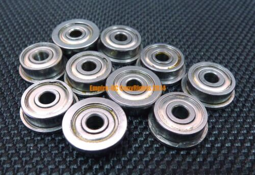 "10 PCS 1//8/"" x 5//16/"" x 9//64/"" Stainless Steel FLANGED Ball Bearings SFR2-5zz"
