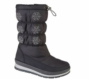 13bc4b36b9019 Details about Womens Snow Boots Ladies Winter Warm Fauxe Fur Lined Ankle  Casual Shoes