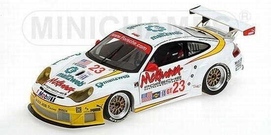 Minichamps 100046423 porsche 911 gt3 rsr Alex Job racing winner 1 18 nouveau OVP