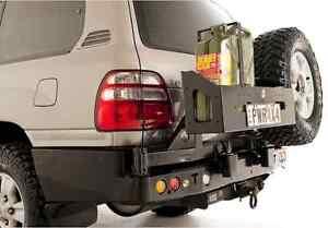 Toyota-Landcruiser-105-Series-Live-Axle-Rear-Bar-Dual-Spare-Wheel-Carrier