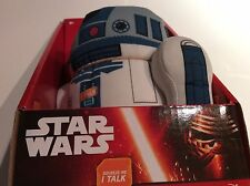 BNWT New Star Wars R2-D2 Talking Plush 18cm Collectible The Force Awakens