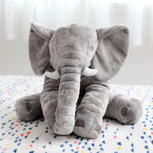 60cm Kinder Baby Elefant Kissen Stofftier Kuscheltier Spielzeug Pillow Geschenk