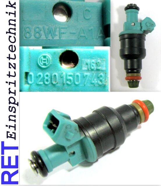 Einspritzdüse BOSCH 0280150743 Ford Escort Cabrio 88WF-A1A neu