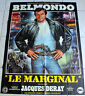 AFFICHE CINEMA ORIGINALE « Le marginal » Film de 1983 avec Jean-Paul BELMONDO Di