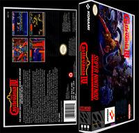 Super Castlevania 4 - Snes Reproduction Art Case/box No Game.