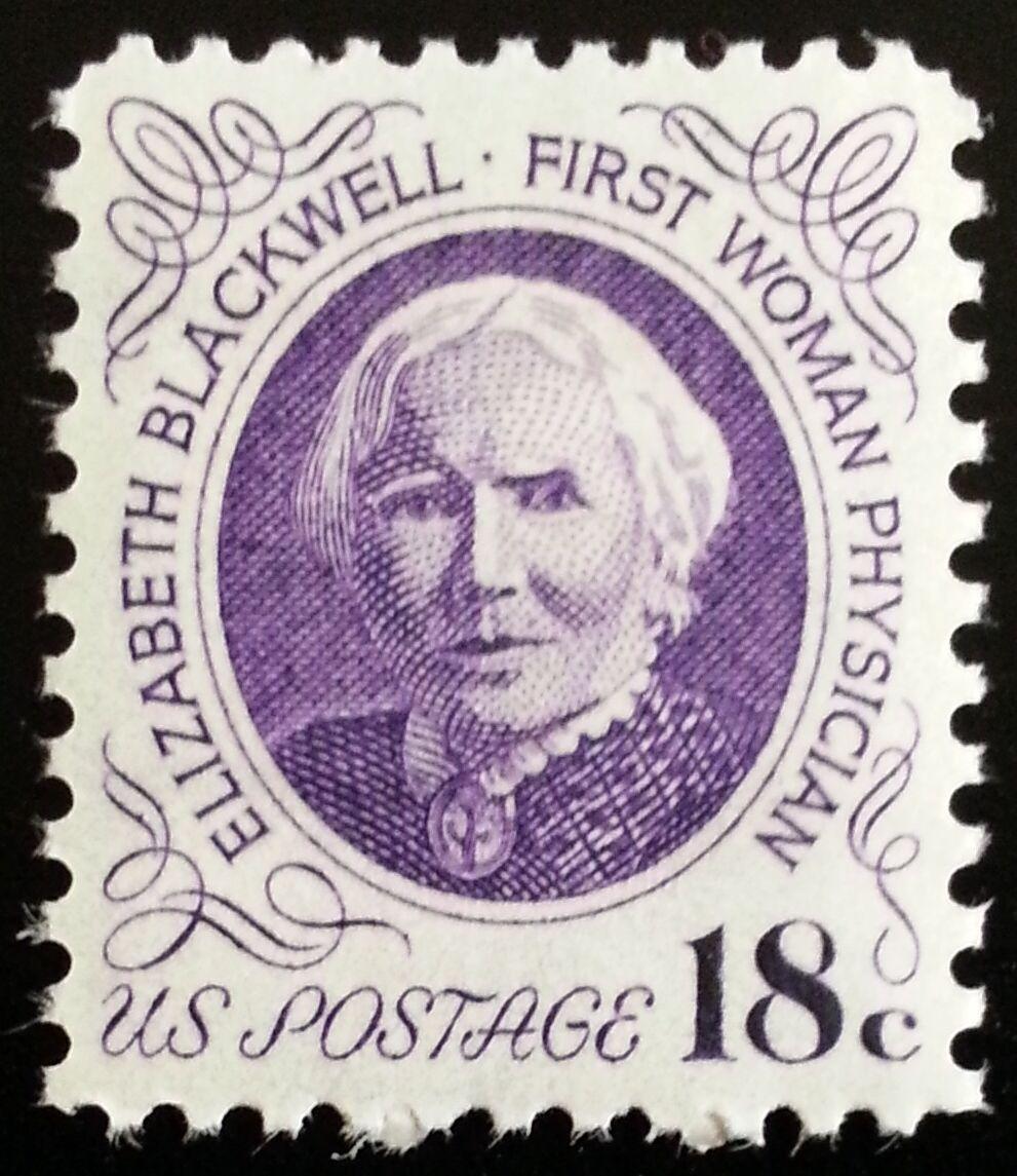 1974 18c Elizabeth Blackwell, Physician Scott 1399 Mint