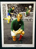 Bob Wilson Signed Arsenal Large Photograph