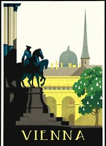 Vienna-City-Capital-Austria-Trip-Travel-Tourism-Vintage-Poster-Repro-FREE-S-H
