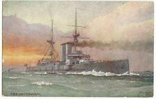 HMS Commonwealth Raphael Tuck Oilette Our Ironclads Series V  Ship postcard