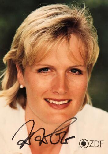 Autogramm Kristin OTTO Schwimmen 6-fache Olympiasiegerin DDR 1988 ZDF Sport #