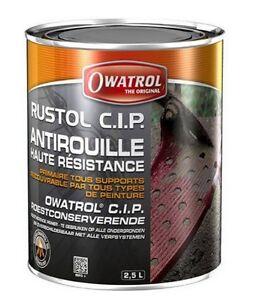 ANTIROUILLE-HAUTE-RESISTANCE-RUSTOL-CIP-2-5L-CLIMAT-MARIN-VOITURE-BALLAST-BATEAU