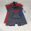 Carters-Baby-Boy-2-Pieces-Rompers-Bodysuits-Multi-Color-Blue-Whale-12M-24M-NEW thumbnail 3