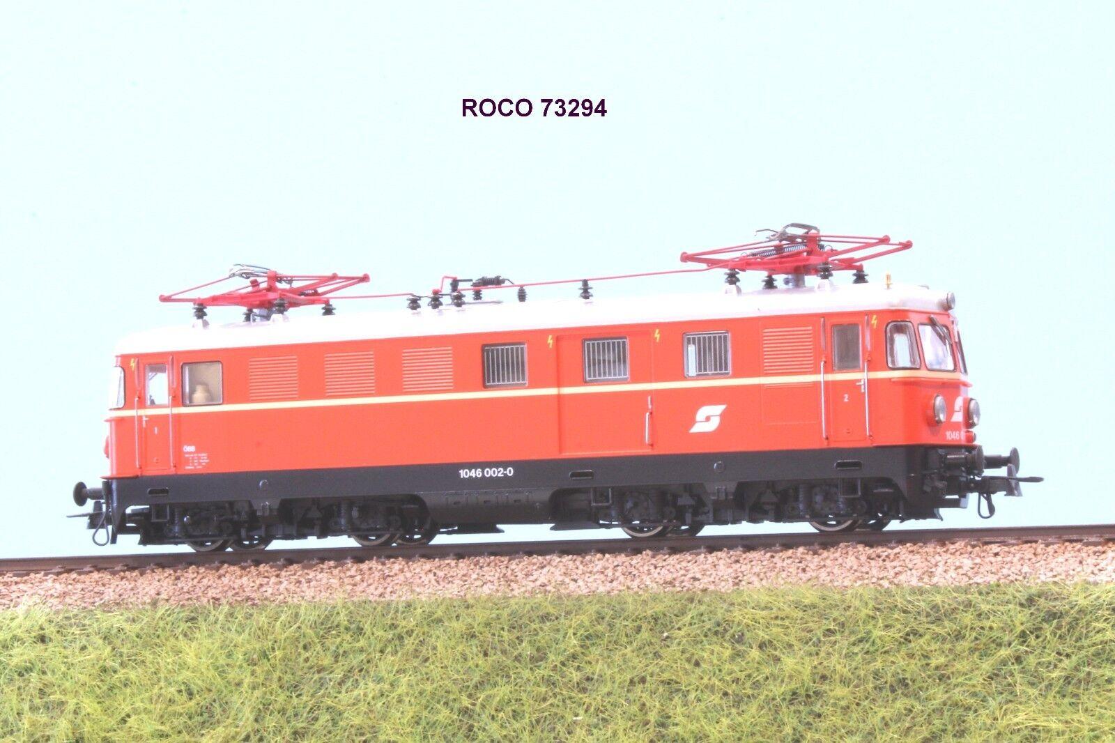 ROCO art.73294 OBB locomotiva Rh 1046 002 livrea arancio ep. V