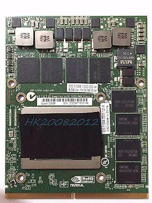 HGXY3 OHGXY3 Dell Precision M6600 M6700 Nvidia Quadro 4000M 2GB Video Card