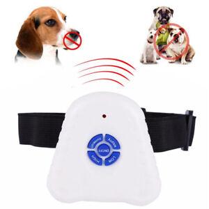 Barking Contrôle Par Ultrasons Dog Bark Stop Anti Aboiement Contrôle Training Collar-afficher Le Titre D'origine