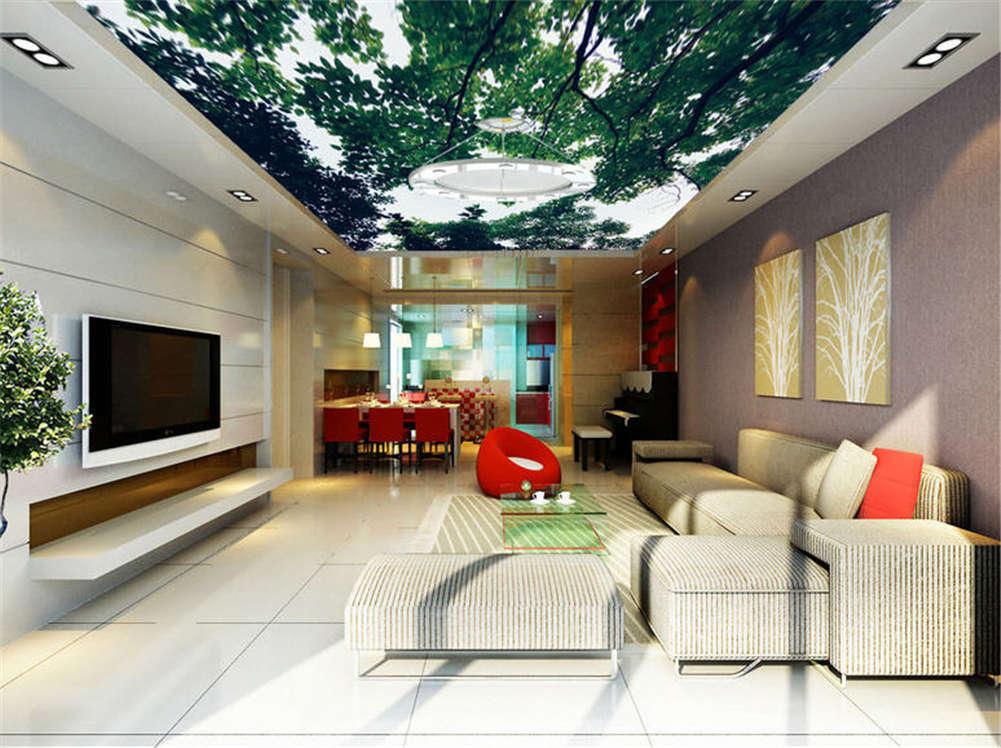 Variable Flat Sea 3D Ceiling Mural Full Wall Photo Wallpaper Print Home Decor