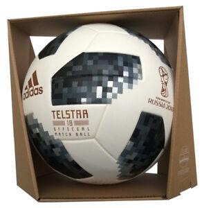 new lifestyle dirt cheap new concept Details zu Original Adidas Telstar WM 2018 Russland Profi Matchball  Spielball +Box CE8093