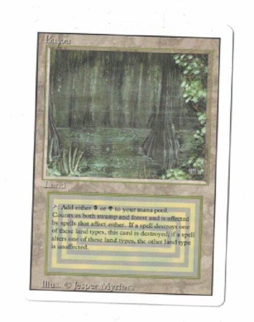 Bayou NM Revised - MTG - Magic BG Dual Land