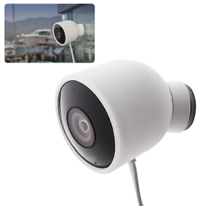 Silicone Protective Skin Case Nest Cam Weather Resistant Outdoor Security Camera